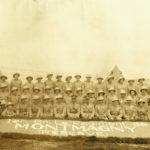 Les soldats du régiment de Montmagny, vers 1937. Photo : Collection Centre d'histoire de Montmagny