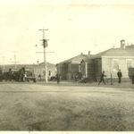 Les activités quotidiennes au camp d'entraînement de Montmagny. Photo : Collection Centre d'histoire de Montmagny