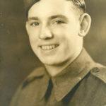 Le soldat Walter Walsh, 19 ans, mort en 1943 à Casa Berrardi, Italie. Photo : Collection Centre d'histoire de Montmagny